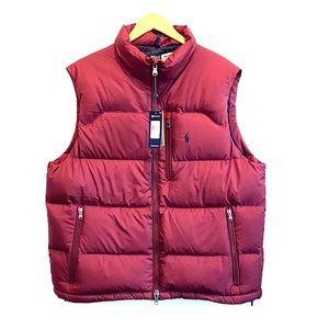 NEW Polo Ralph Lauren Down Filled Vest